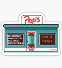 Pop's (Riverdale) Sticker