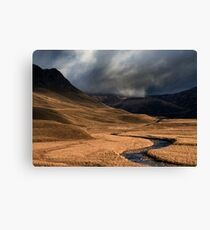 Glenshee, Scotland Canvas Print