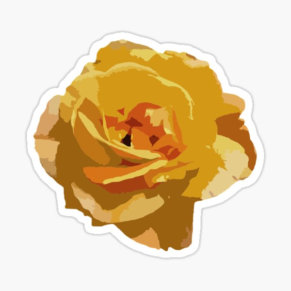 The Yellow Rose of Texas Sticker