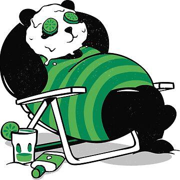 Summer Panda by alt0230
