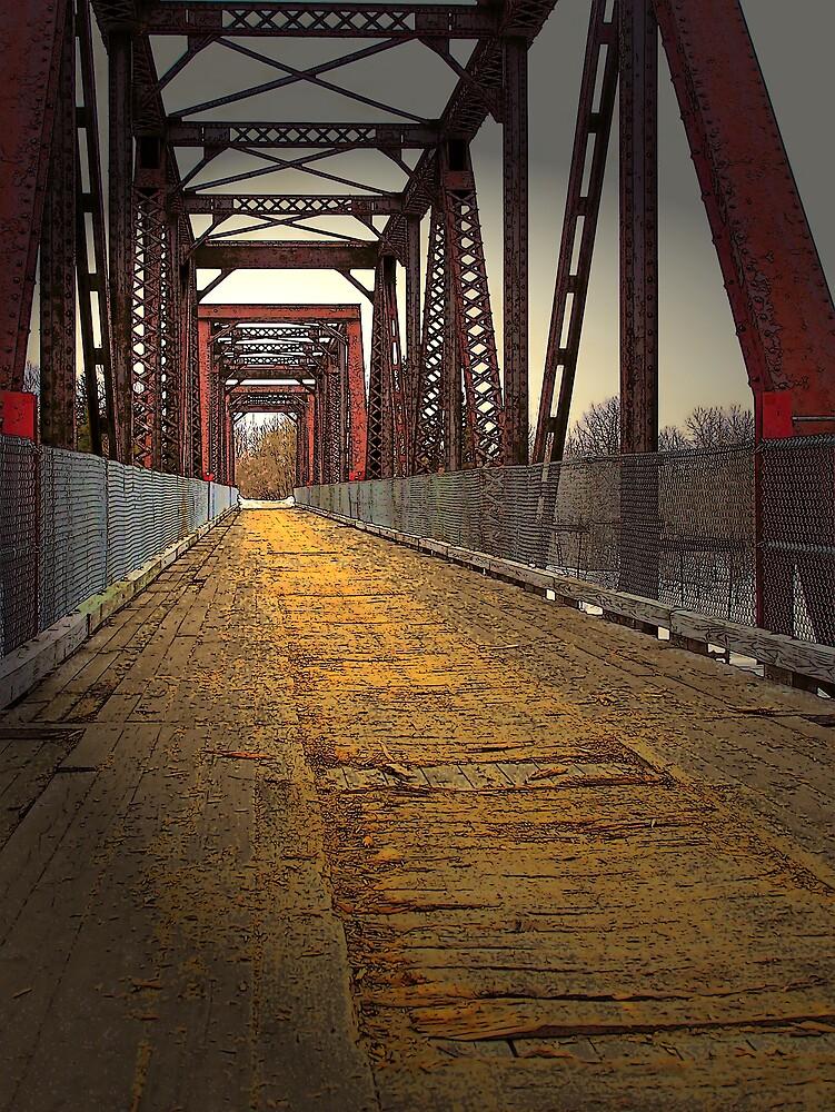 On The Bridge by Gene Cyr