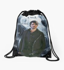 Dark!Hook Drawstring Bag