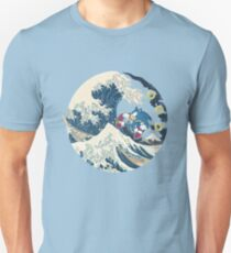 Sonic the Hedgehog - Hokusai Unisex T-Shirt