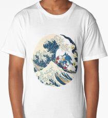 Sonic the Hedgehog - Hokusai Long T-Shirt