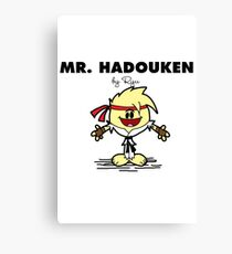 Mr Hadouken Canvas Print