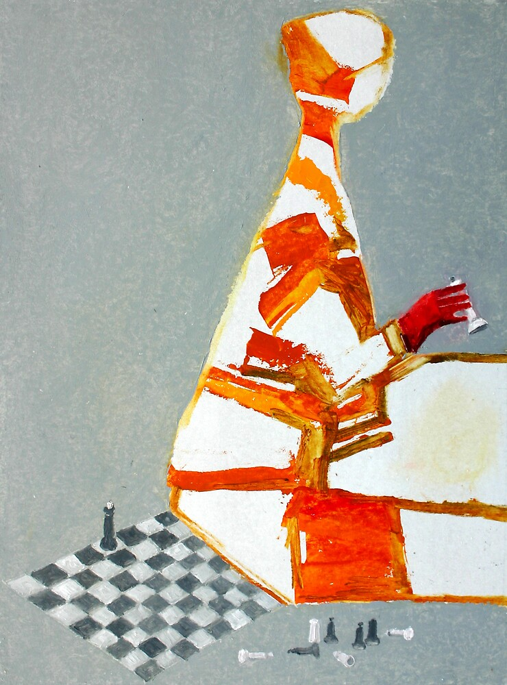 chess player by Valeriu Buev