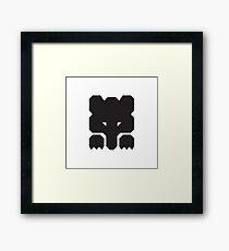 Soviet Bear Logo  Framed Print