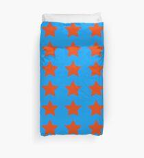 Star - Red - Blue - Theme Duvet Cover