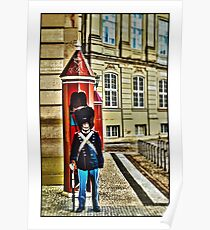Royal Life Guard, Copenhagen, by Tim Constable Poster