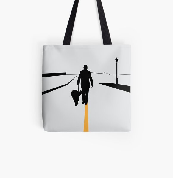 The Walk All Over Print Tote Bag