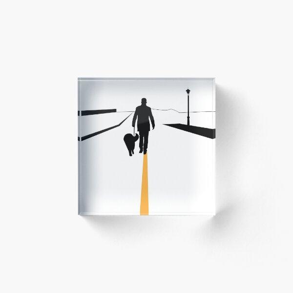 The Walk Acrylic Block