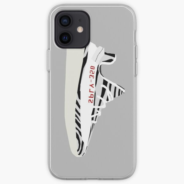 Yeezy Boost 350 S2 - Zebra Coque souple iPhone