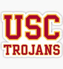 usc logo Sticker