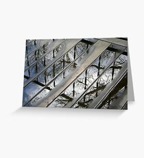 Stormy Weather Reflections Greeting Card