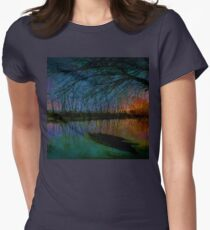 At The Crack Of Dawn Women's Fitted T-Shirt