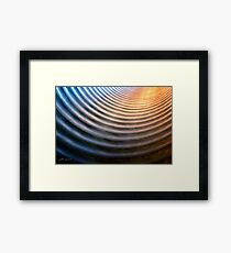Half Pipe Framed Print