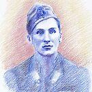 Carlo Murelli portrait by Francesca Romana Brogani