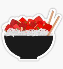 Poke Bowl Sticker