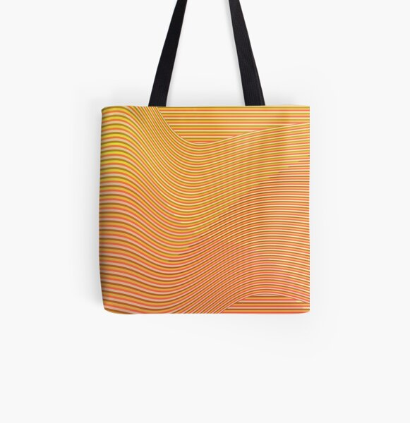 Play with stripes 5 All Over Print Tote Bag