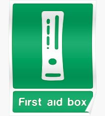 First aid BOX Poster
