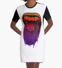 Moutheye Graphic T-Shirt Dress