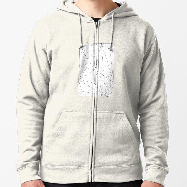 Man Hooded Geometric 3D Hoodies Print Purple Polygon Leisure Big Size Clothes Winter Sweatshirts