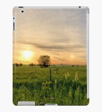 Pasture Sunrise iPad Case/Skin