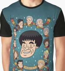 My Doctor is... The Second Doctor Graphic T-Shirt