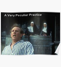 A Very Peculiar Practice Poster