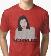 Versión blanca - Lorna Morello OITNB Tri-blend T-Shirt