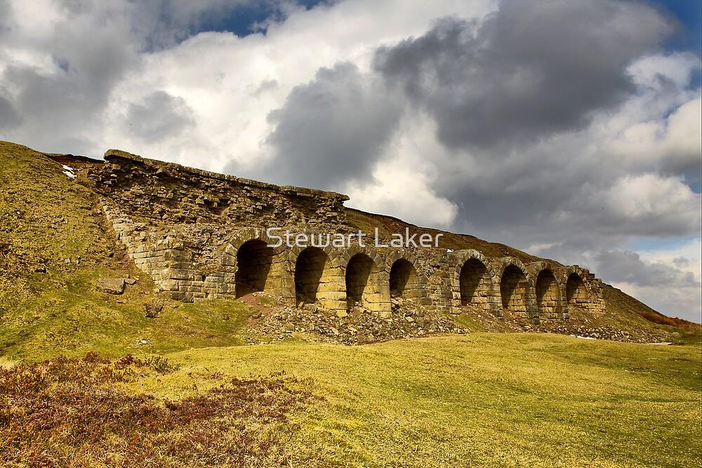 Rosedale Abbey Iron Works Kilns by Stewart Laker