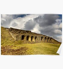 Rosedale Abbey Iron Works Kilns Poster