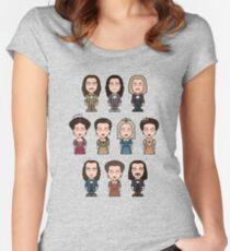 Team Versailles Women's Fitted Scoop T-Shirt