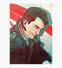 Captain Jack Harkness Photographic Print