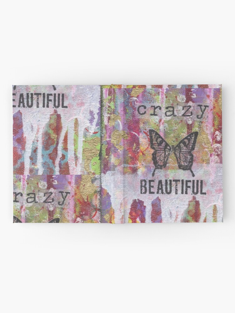 Alternate view of Crazy Beautiful Hardcover Journal