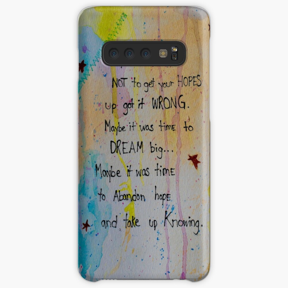 Soul Whisper #1: Take Up Knowing Case & Skin for Samsung Galaxy