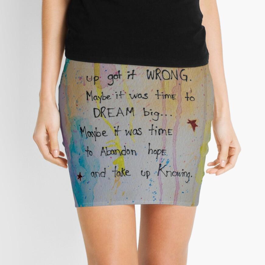 Soul Whisper #1: Take Up Knowing Mini Skirt