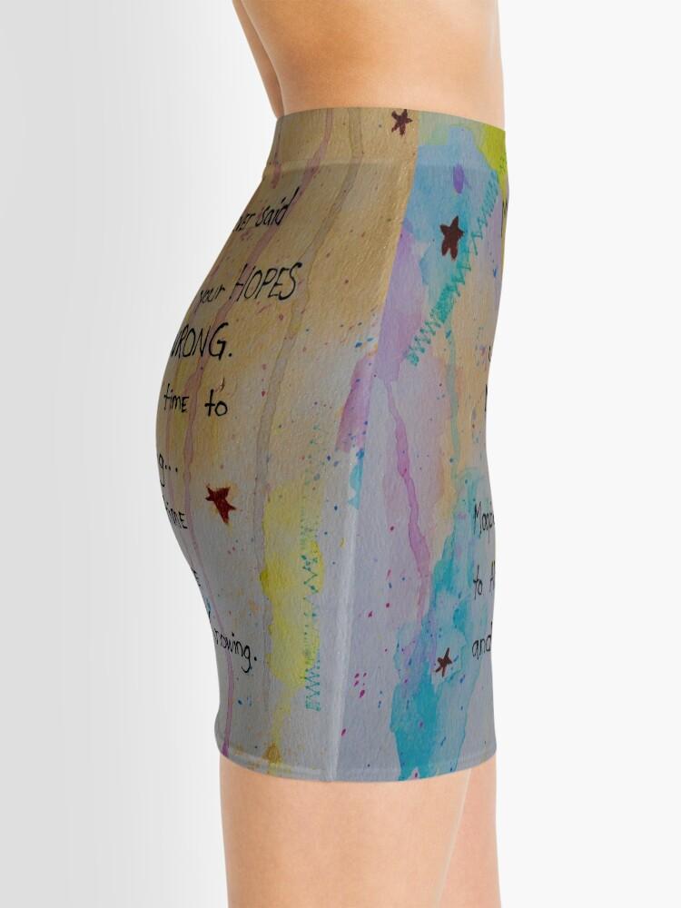 Alternate view of Soul Whisper #1: Take Up Knowing Mini Skirt