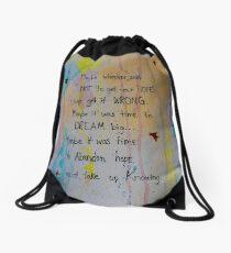 Soul Whisper #1: Take Up Knowing Drawstring Bag