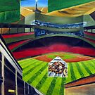 Fenway Park- The Green Monster by Christopher Ripley