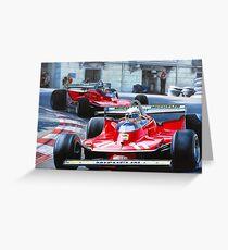 Monaco GP, 1979 Greeting Card