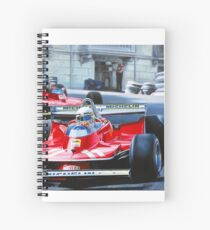 Monaco GP, 1979 Spiral Notebook