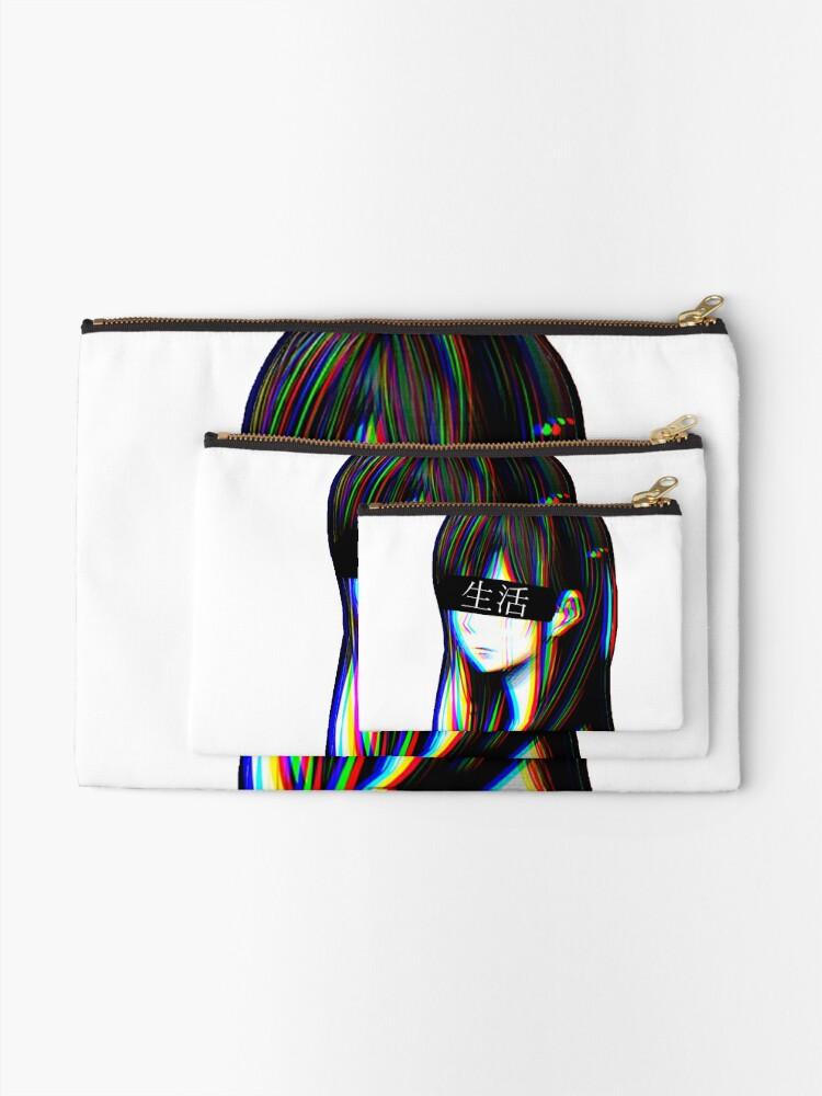 Alternative Ansicht von Ist das Art Sad Japanese Aesthetic (Japanische Version) Täschchen