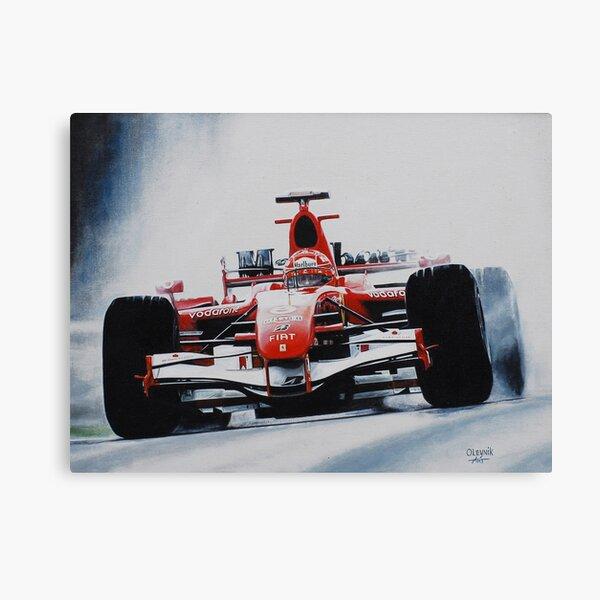 Michael Schumacher, Win 91 Impression sur toile