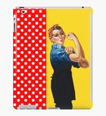 Rosie and Polka Dots iPad Case/Skin