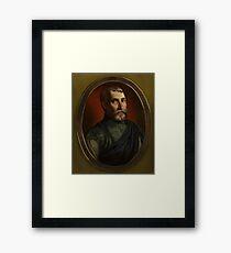 Camillo Agrippa Framed Print