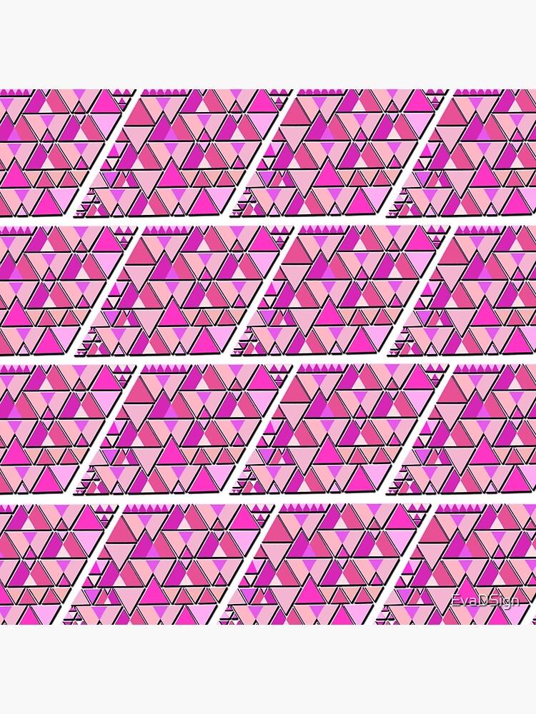 Favorite Pink Pattern von EvaDSign