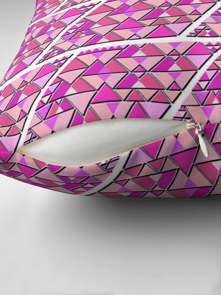 Alternative Ansicht von Favorite Pink Pattern Dekokissen