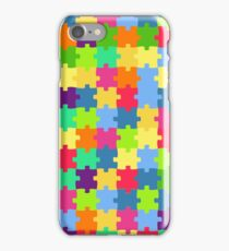 Funny puzzles iPhone Case/Skin