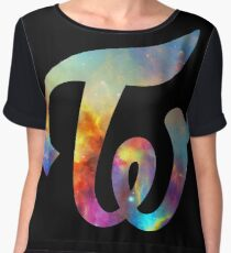 Twice Nebula Women's Chiffon Top